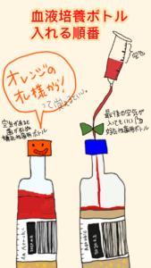 血液培養ボトル順番